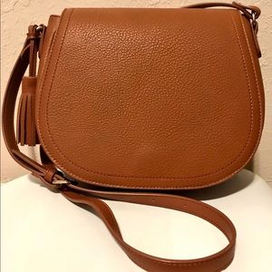 Brown crossbody bag!